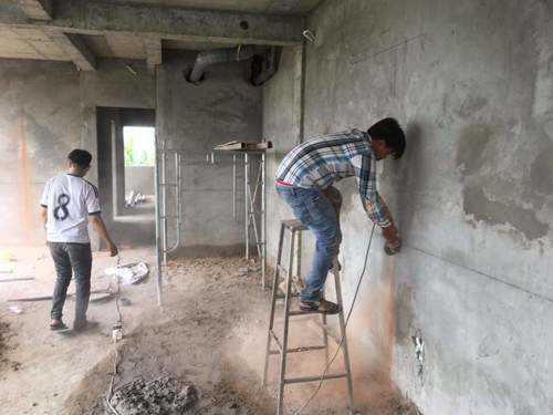 Thi công ống đồng và lắp đặt máy lạnh cho căn hộ cao cấp