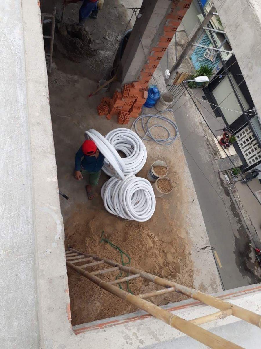 Thi công ống đồng máy lạnh tại biên hòa- đồng nai