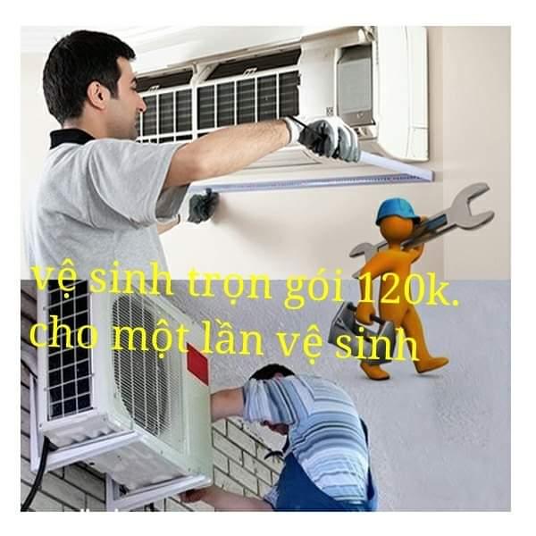 Dịch vụ vệ sinh máy lạnh tại quận 3