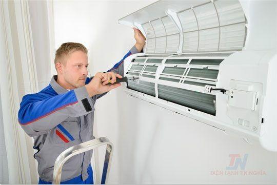 Dịch vụ vệ sinh máy lạnh tại quận 5
