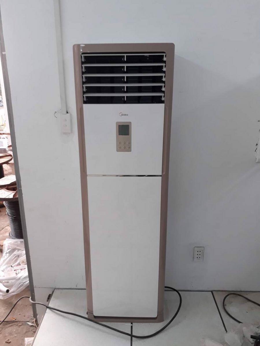 Cung cấp thi công máy lạnh tủ đứng tại Bình Dương