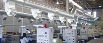   Hệ thống máy làm mát nhà xưởng