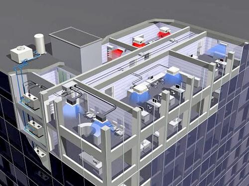 Nhà thầu thi công máy lạnh trung tâm