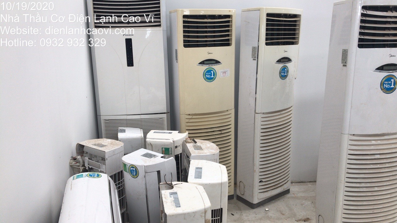 Thu mua máy lạnh cũ Quận 5