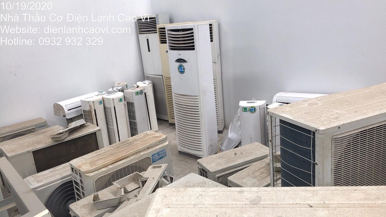 Thu mua máy lạnh cũ tận nơi giá cao nhất TPHCM